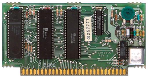Atari 400 CPU board and RAM card
